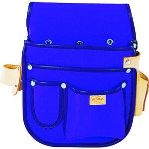 ■タジマ プロマックス 釘袋(工具差し付)バイオレットブルー 〔品番:PM-KUGKB〕【8134594:0】