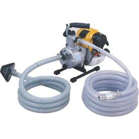■ツルミ 排水用エンジンポンプ 口径25MM 〔品番:TE3-25RCP〕外直送元【8179938:0】【個人宅配送不可】