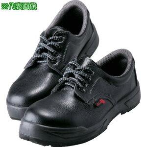 ■ノサックス 耐滑ウレタン2層底 静電作業靴 短靴 25.5CM KC-0055-25.5 (株)ノサックス【8290987:0】