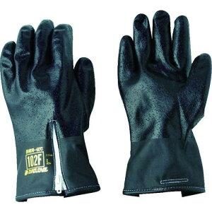 ■DAILOVE 防寒用手袋ダイローブ102F-BK(L) D102F-BKL ダイヤゴム(株)【8356589:0】