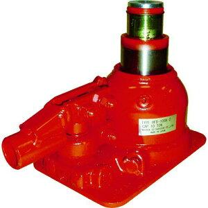 ■マサダ 二段式油圧ジャッキ(超低床式) 〔品番:HFD-10SK-2〕【8562325:0】