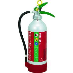 ■ドライケミカル ABC粉末消火器10型本体アルミ製〔品番:PAN10A4〕【8594406:0】