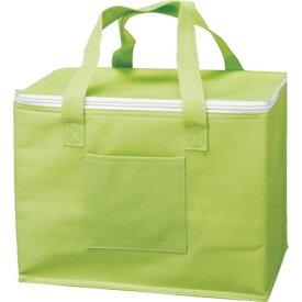 ■TRUSCO 不織布タイプ保冷バッグ グリーン HHB-GN トラスコ中山(株)【8681635:0】