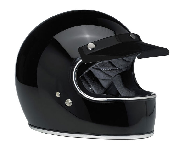 【BILTWELL】ヘルメットバイザー ブラック