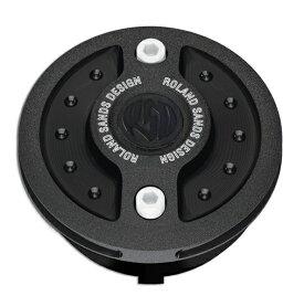 【ローランドサンズ(RSD)】 ビレット・アルミニウム・ガスキャップ RADIAL ブラックOps 1996〜2019 ハーレー全車種 RD5560