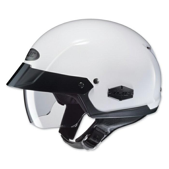 【HJC】ISクルーザー ハーフヘルメット ソリッドホワイト