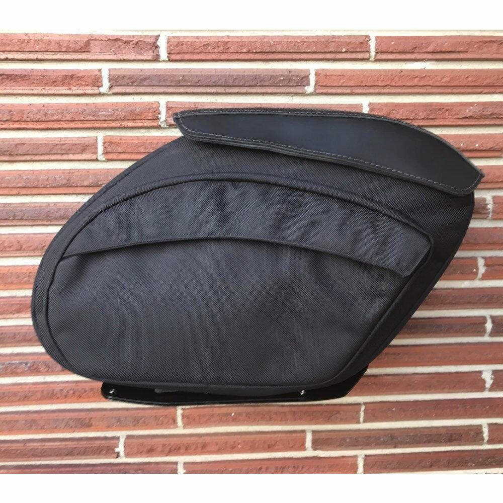 【Leather Pros】 レトロV2 ナイロンデタッチャブル・サドルバッグ FXR