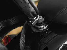 【ラペラ】H-LOCK-BLACK ヘルメットロック&シートロック シートナットキット ブラック ハーレー全車種