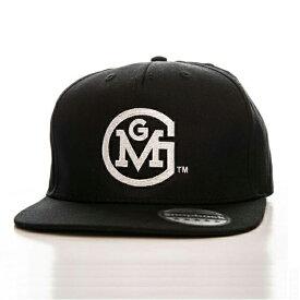 【ガス モンキー ガレージ】「GMG Round」ロゴ スナップバッグキャップ ブラック 574881