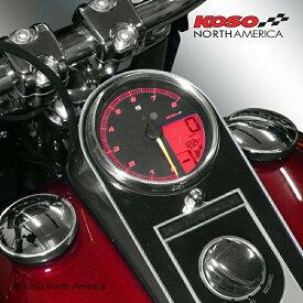 【コーソー】4.5インチ タンクマウント・スピードメーター 2014〜2020 FLHR/C/XS等 BA072000