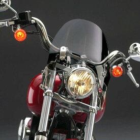 【ナショナル サイクル】 スイッチブレード・デフレクター ダークスクリーン FXソフテイル用 N21920