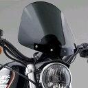 【ナショナル サイクル】GLADIATOR・コンパクト・ウインドシールド ブラックマウント スポーツスター ダイナ N2706/…