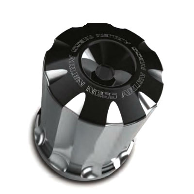 【Arlen Ness】Deep Cut ビレット・ハーレーオイルフィルター ブラック