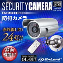 防犯カメラ sdカード録画 家庭用 屋外防犯カメラ OL-017