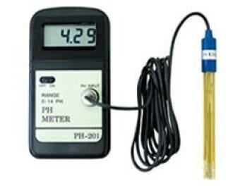 数码的PH测量仪器PH-201(ph测量仪器peha测量仪器水质测量仪器)