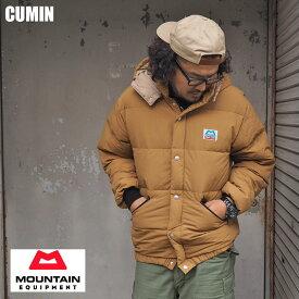 MOUNTAIN EQUIPMENT マウンテンイクイップメント ダウンジャケット 423199 メンズ ダウン ジャケット レトロライトライン マウンテン イクイップメント クライマー 軽量 アウトドア ワッペン ライト インポート アメカジ 黒 オリーブ 長袖