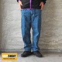 GRIP SWANY グリップスワニー キャンプパンツ デニムJOG 3D WIDE CAMP PANTS GSP-59 メンズ レディース ワイド パンツ…