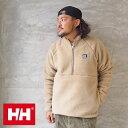 HELLY HANSEN ヘリーハンセン フリース ジャケット FIBERPILE Half-Zip Jacket HE51978 メンズ レディース アウター カーディガン ボア ファイバーパイル サーモ ボアカーディガン ボアジャケット アウトドア おしゃれ ジップ ロゴ シンプル