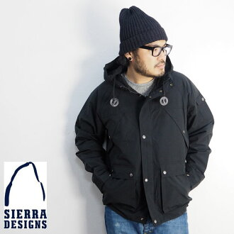 SIERRA DESIGNS Sierra design basic mountain parka 10976216 メンズマンパマウンテンパーカーロクヨン 60/40 Roch Yong cross men man gone Uto door American casual jacket trekking mountain climbing light weight sports Sierra parka LL XL