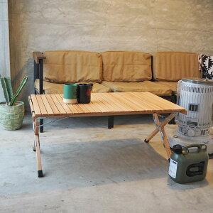 Curiace キュリアス アウトドア テーブル ロールトップテーブル100 RT10060 H16LLキャンプ ウッド 木 ロール roll toptable 100 ウッドテーブル レジャー 机 キャンパー 折り畳み 折りたたみ 収納 おしゃ