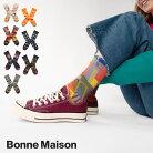 BonneMaisonボンヌメゾンくつ下bonnemaison靴下ソックスレディースおしゃれフランスインポートかわいいプレゼントギフト猫花