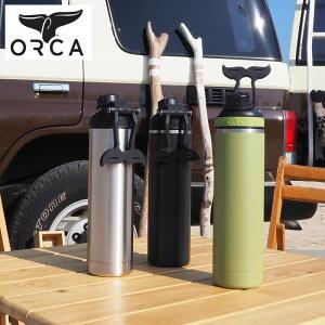 ORCA オルカ hydra ボトル 水筒 正規品 Bottle 22oz Stainless Hydra 650ml ORCHYD22 H8Lオルカボトル 22オンス ステンレススチール 2重構造 シームレス構造 メンズ レディース アウトドア キャンプ キャンパー
