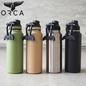 ORCA オルカ hydra ボトル 水筒 正規品 Hydra 34oz 1,000ml ORCHYD34 H8Lオルカボトル 34オンス ステンレススチール 2重構造 シームレス構造 メンズ レディース アウトドア キャンプ キャンパー おしゃれ