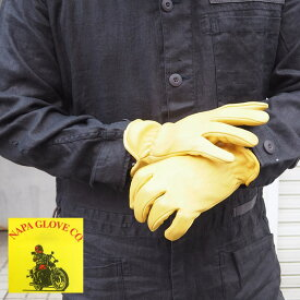 NAPA GLOVE CO ナパグローブ DEERSKIN GLOVE NAP001 手袋 革手袋 皮手袋 革 レザー グローブ レザーグローブ メンズ ワーク ワークグローブ DIY ガーデニング ディアスキン 保温性 防寒 ツーリング バイク 作業用