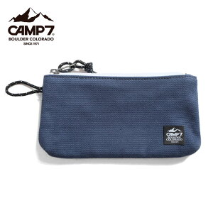 CAMP7 キャンプセブン ポーチ CAP-9018 F6Lマルチケース ペンケース ペンポーチ 筆箱 メンズ レディース 小物入れ 綿 コットン コットン100% おしゃれ CAMP 7 男女兼用 プレゼント ギフト メール便可