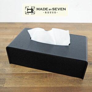 MADE BY SEVEN メイドバイセブン COW HAIR HIDE カウヘアーハイドコレクション TISSUE COVER ティッシュカバー ティッシュケース サイトーウッド SAITO WOOD ハラコ カウレザー カウハイドレザー スウェー