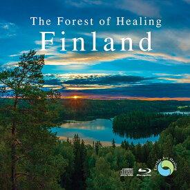 癒しの森 フィンランド(CD BGM+Blu-ray)ヒーリング BD 音楽 癒し ミュージック 自然 映像 不眠 睡眠 寝かしつけ ピアノ カンテレ ギフト プレゼント (試聴できます)送料無料 曲 イージーリスニング