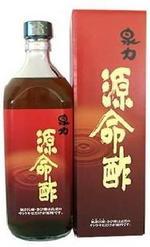 【泉力源命酢】(720ml)加計呂麻きび酢(サトウキビ100%)