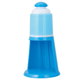 【当店は3980円以上で送料無料】電動氷かき器 ブルー DIN-1952B