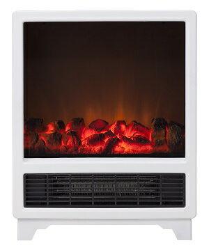 【クーポン獲得】【4980円以上送料無料】暖炉型ヒーター ノスタルジア ホワイト Nostalgie CHT−1539WH 3個セット