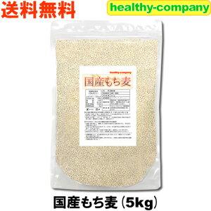 国産 もち麦 5kg 注目商品 送料無料