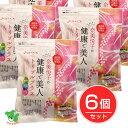 奈美悦子の健康で美人 国内産23種雑穀米 トリプルプラス 15g×28袋×6個セット - ベストアメニティ