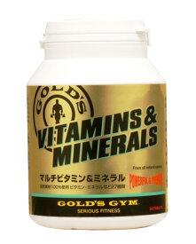 ゴールドジム マルチビタミン&ミネラル 180粒 - THINKフィットネス  [GOLD'SGYM]