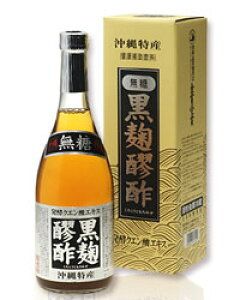 黒麹醪酢(もろみ酢) 無糖 720ml - ヘリオス酒造