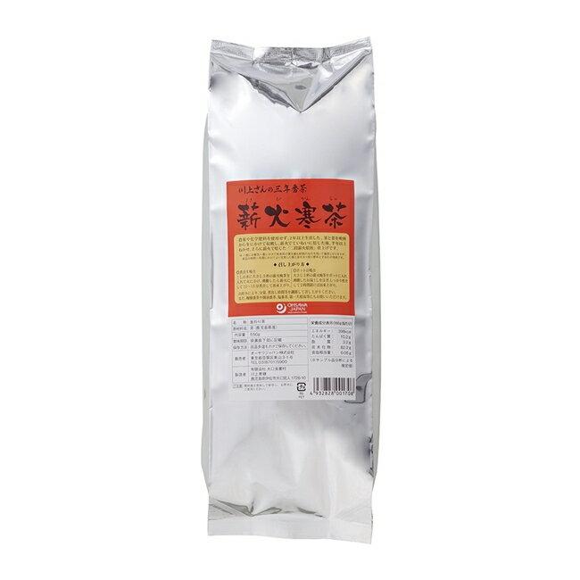 オーサワの川上さんの三年番茶 薪火寒茶(大) 550g - オーサワジャパン