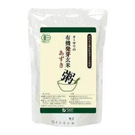 オーサワの有機活性発芽玄米あずき粥 200g - オーサワジャパン