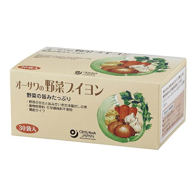 オーサワの野菜ブイヨン 5g×30包- オーサワジャパン