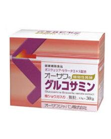 オーサワの植物性発酵グルコサミン 30包 - オーサワジャパン