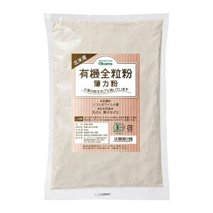 オーサワの北米産 有機全粒粉 薄力粉 500g - オーサワジャパン
