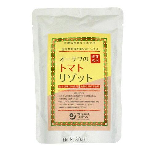 オーサワの発芽玄米トマトリゾット 200g - オーサワジャパン