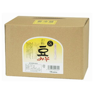 業務用 有機立科豆みそ 箱入 3.6kg - オーサワジャパン