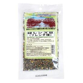 緑レンズ豆 フレンチ種 120g - ネオファーム