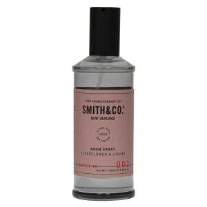 スミスアンドコー Smith&Co ルームスプレー エルダーフラワー&ライチ - 三和トレーディング