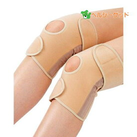 竹虎 かるがる膝ベルト ベージュ 2枚セット組 - 竹虎 [ひざベルト][膝サポーター]