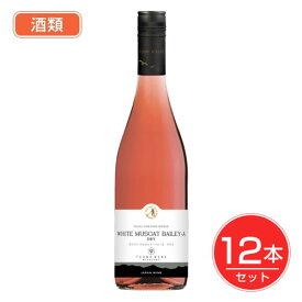 ホワイトマスカットベリーA 750ml×12個セット - 都農ワイン 酒類