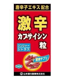 激辛カプサイシン粒 240粒 - 山本漢方製薬